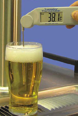 Draft Beer Thermometer
