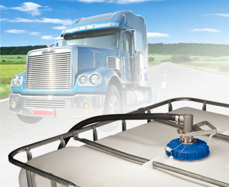 Diesel Exhaust Fluid - DEF - Drum & IBC Tote Closed Systems